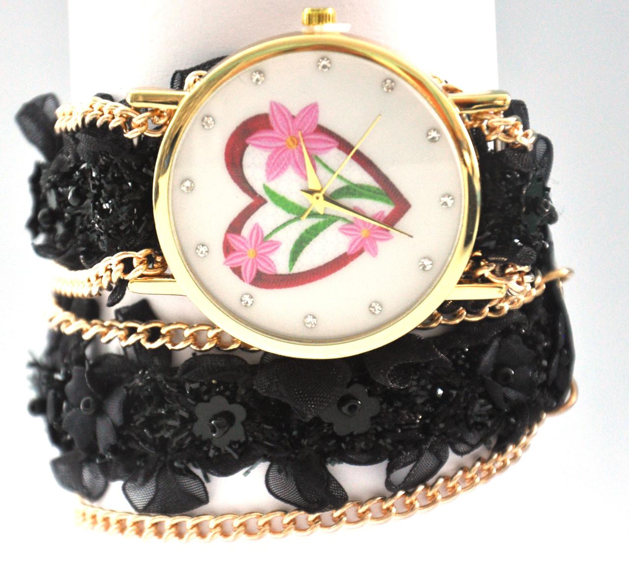 Часы с длинным ремешком  5017