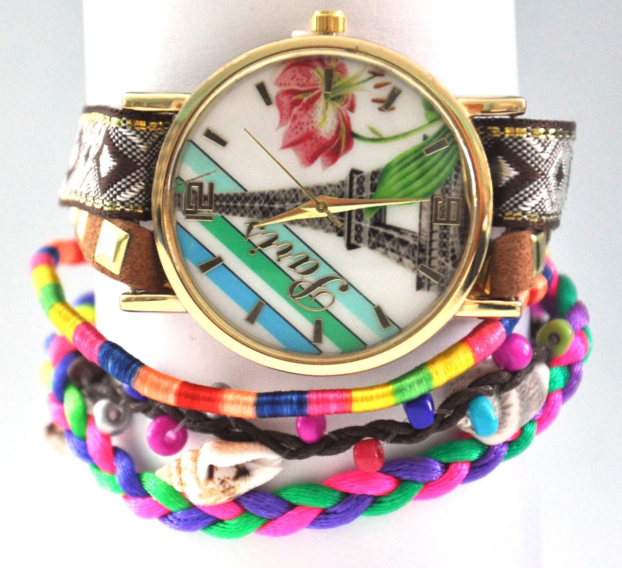 Часы с длинным ремешком  5035