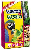 Корм для крупных амазонских попугаев Vitakraft (Витакрафт) Amazonian, 750 гр
