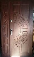 Входная дверь полуторная модель 1200 Т1-3 361 vinorit-37