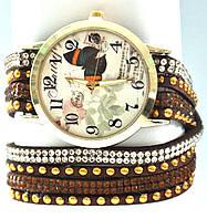 Часы с длинным ремешком  5043