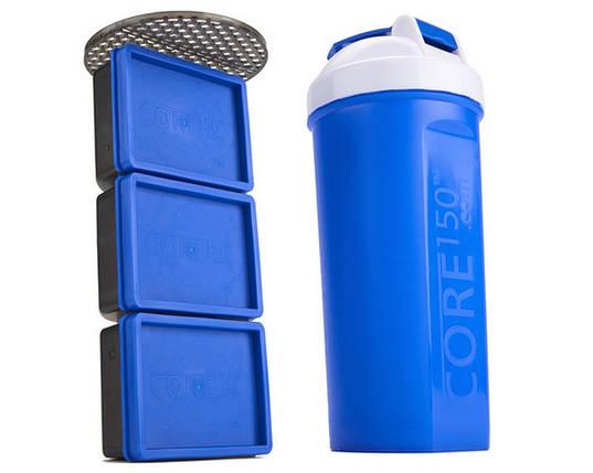 Шейкер Myprotein Shaker Core 150 900 мл синий, фото 2