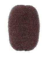 Comair Валик для причесок коричневый, 7 x 11 см