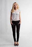 """Женские стильные брюки с завышенной талией""""72-171""""(Мемори)"""