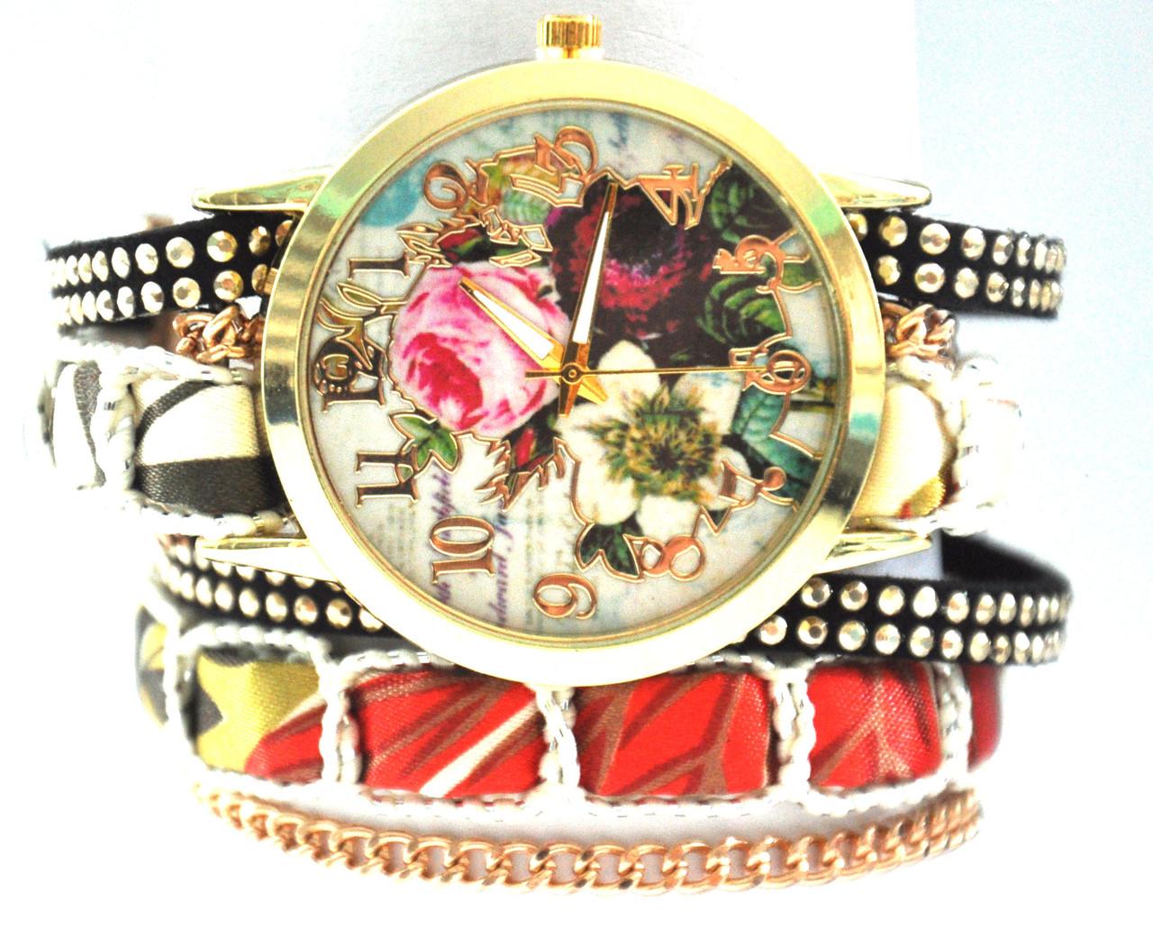 Часы с длинным ремешком  5062