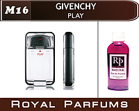 Мужские духи на разлив Givenchy «Play» №16  100мл          +ПОДАРОК