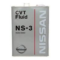 Трансмиссионное масло NISSAN CVT NS-3 4 л
