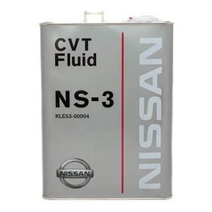 Трансмиссионное масло NISSAN CVT NS-3 4 л, фото 2