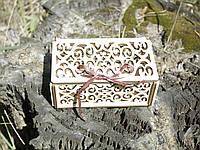Шкатулка декоративная подарочная из фанеры Модель 4