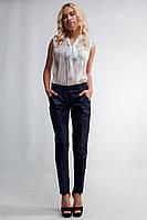"""Женские стильные брюки с завышенной талией """"72-185""""(Мемори)"""