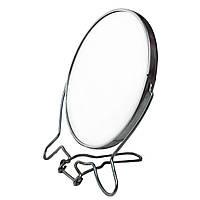 Зеркало настольное для украшений металлическое