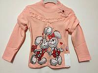 Детская одежда оптом Реглан начес Orko для девочек оптом р.92-122, фото 1