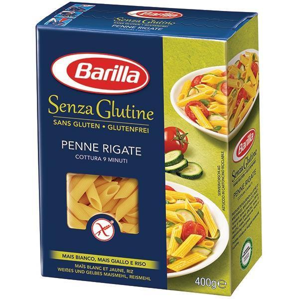 Безглютеновые макароны Barilla «Penne Rigate» Senza Glutine (барилла перья) 400 г.