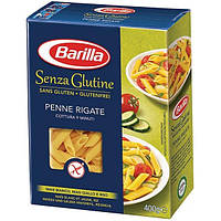 Безглютеновые макароны Barilla «Penne Rigate» Senza Glutine (барилла перья) 400 г., фото 1