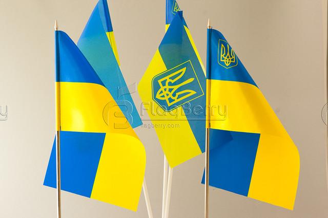 9.1. Флажки Украины
