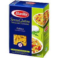 Безглютеновые макароны Barilla «Fusilli» Senza Glutine (макароны спиральки) 400 г.