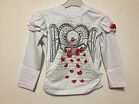 Детская одежда оптом Реглан Orko с начесом для девочек оптом р.92-122, фото 1