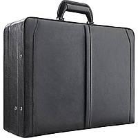 """Кожаный атташе кейс SOLO Premium Leather 16"""" Laptop с двумя кодовыми замками"""