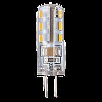 Лампа светодиодная LEDEX G4 1,5W, 3000K, 220V чип: Epistar
