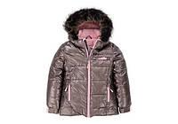 Куртка для девочки зимняя  Deux par Deux  P 820, цвет 150