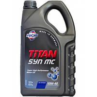 Масло моторное Fuchs Titan Syn MC 10W-40 5 л