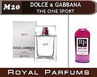 Мужские духи на разлив Dolce & Gabbana «The One Sport»  №20  50мл  +ПОДАРОК
