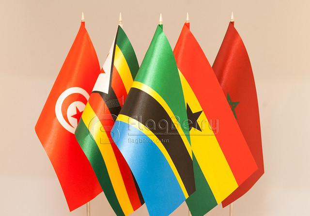 9.2.2. Флажки Африки