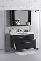 Мебель в ванную Буль-Буль Sumatra 98 см венге, 2 ящика