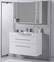 Мебель в ванную Буль-Буль SUMATRA 98 см белый, 2 ящика