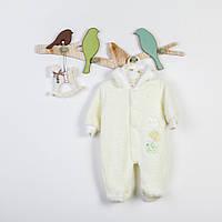 Человечки махровые ясельные для новорожденных ( мальчик девочка ) ТМ Фламинго в трёх цветах