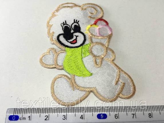 Детская нашивка Мишка с мороженым, фото 2