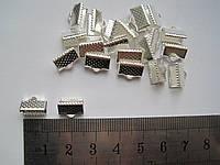 Каллоты 1 см серебро