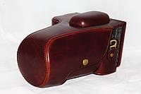 Защитный футляр - чехол для фотоаппаратов NIKON D5500 - кофе