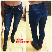 Женские красивые потертые джинсы (Турция)