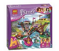 Конструктор Bela серия Friends / Подружки 10493 Спортивный лагерь: сплав по реке (аналог Lego Friends 41121)