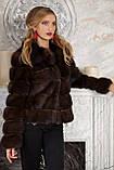 "Шуба полушубок из соболя баргузина ""Мадлен"" sable jacket fur coat , фото 5"