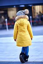 Детская куртка с мехом на капюшоне, фото 2