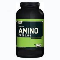 Аминокислоты SUPERIOR AMINO 2222 CAPS 300 капсул