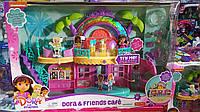 Большой набор Даша в кафе с музыкой и светом от Fisher-Price Dora Cafe
