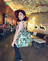 Молодежный рюкзак городской с листочками
