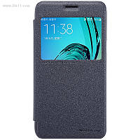 Чехол Nillkin Sparkle Leather Case для Samsung Galaxy J3 и J3 (2016) J300/J320 Dark Grey