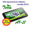 Новинка 2013г. Terra A9-II, Навигатор+видеорегистратор, 5Mp, 2 SIM, 3G, TV, BT, Android 4, WiFi