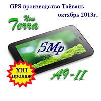 Новинка 2013г. Terra A9-II, Навигатор+видеорегистратор, 5Mp, 2 SIM, 3G, TV, BT, Android 4, WiFi, фото 1