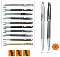 Ручка Baixin капиллярная металлическая  RP929 (1-12) золото+серебро