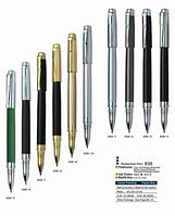 Ручка Baixin капиллярная металлическая  RP936 золото+серебро