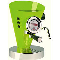 Кофеварка эспрессо Casa Bugatti DIVA 15-DIVACM, зеленая