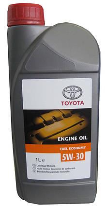 Моторное масло TOYOTA Fuel Economi 5W30 (EU) 1 л, фото 2