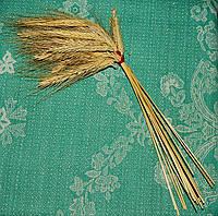 Колосья пшеницы свадебные для связывания бутылок