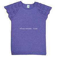 Джемпер для девочки (сиреневый цвет), рост 122-128 см