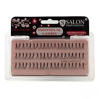 Ресницы пучковые длинные 14 mm Flare Long Black Salon Professional